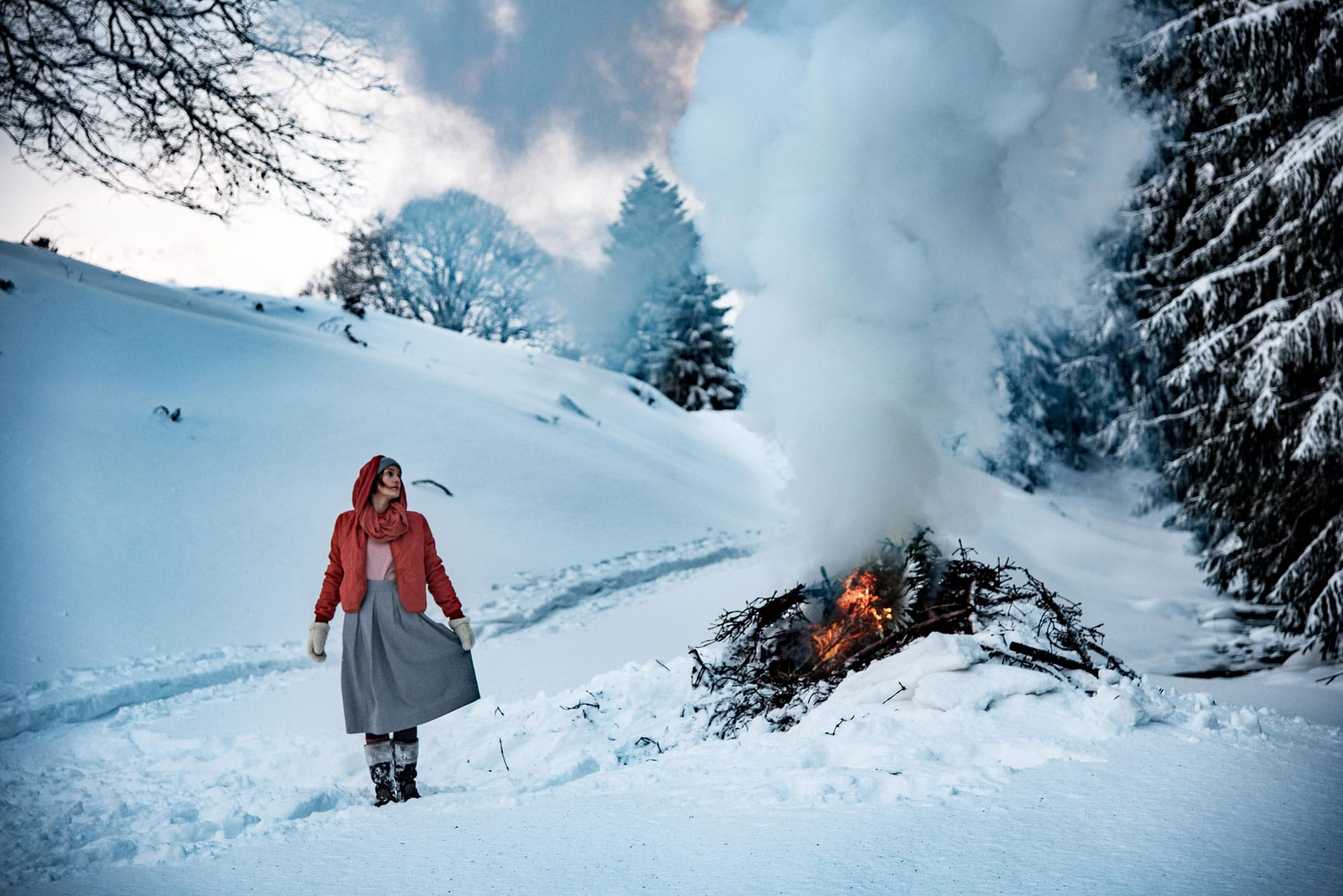 Grenzgang Südtirol Allgäu Winter Faire Mode Slow Organic