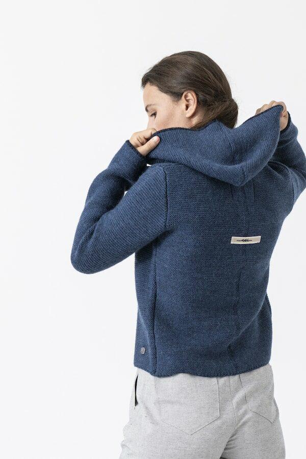 Strickjacke EMMA von Grenzgang Slow Organic Fashion