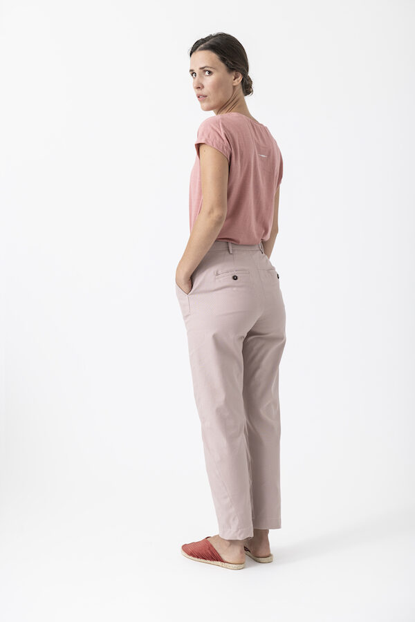 Chinohose Marlene von Grenzgang Slow Organic Fashion